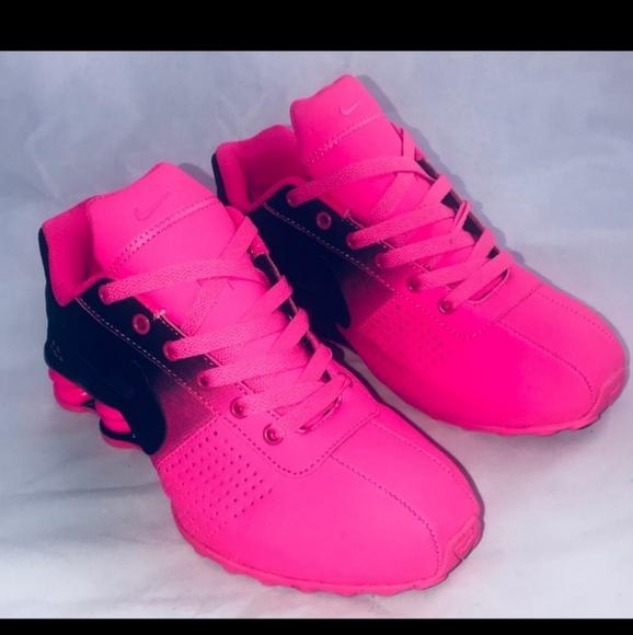 Nike Shoes | Hot Pink Nike Shox | Poshmark